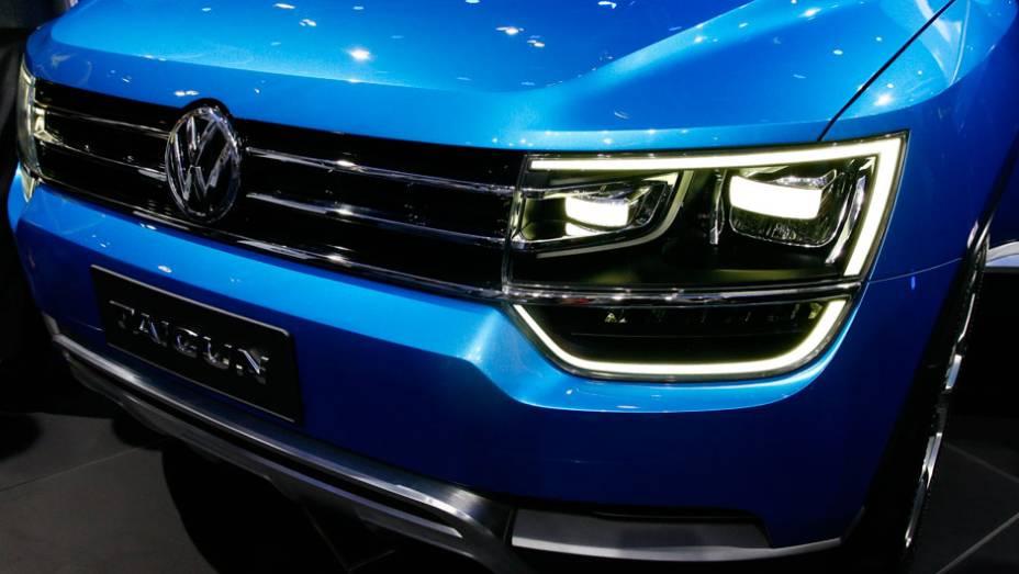 """Volkswagen Taigun tem a cor """"seaside blue""""<a href=""""http://quatrorodas.abril.com.br/salao-do-automovel/2012/carros/taigun-708675.shtml"""" rel=""""migration"""">Leia mais</a>"""