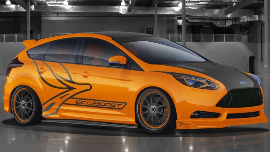 A Ford investiu muitas de suas fichas na em diversas unidades do Focus ST. A unidade customizada pela Bojix Design recebeu novo body kit, aperfeiçoamentos no sistema de freios e suspensão