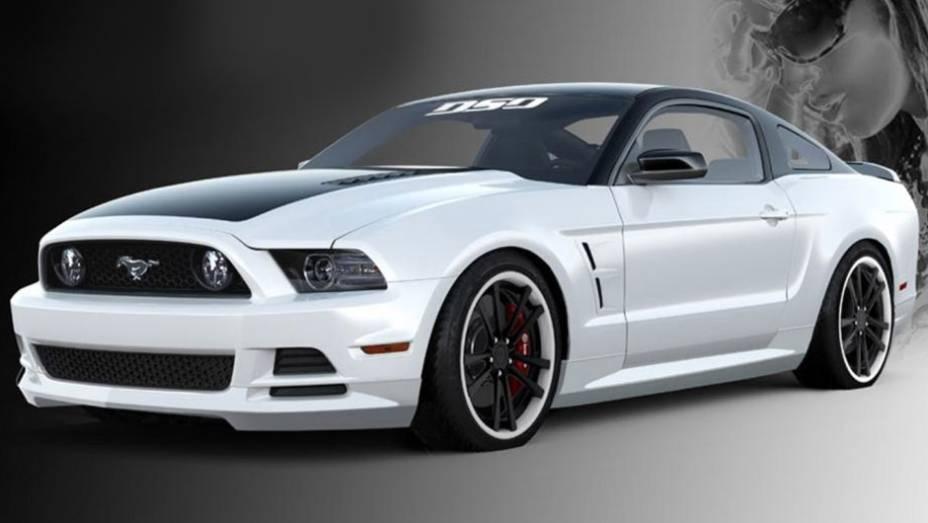 Mustang preparado pela DSO Eyewear