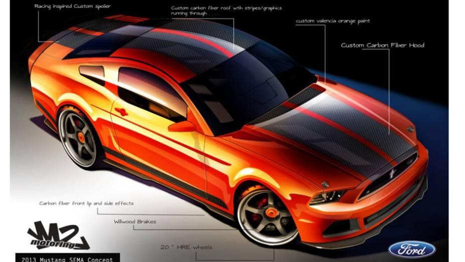 Mustang da M2 Motoring