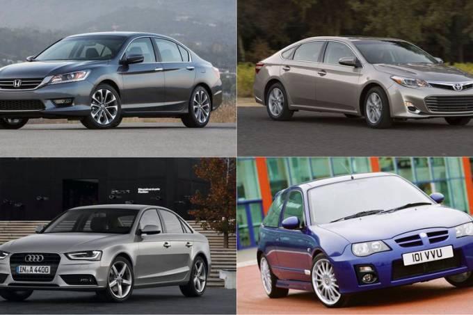 Motores mais e menos confiáveis