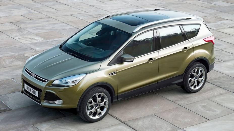 """UTILITÁRIO COMPACTO - Ford Kuga   <a href=""""http://quatrorodas.abril.com.br/noticias/seguranca/euro-ncap-divulga-lista-carros-mais-seguros-2012-731866.shtml"""" rel=""""migration"""">Leia mais</a>"""