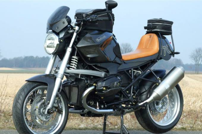 BMW R1200 CR-T, customizada por Metisse
