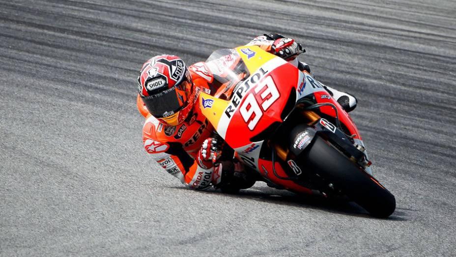 """Marc Márquez é nova aposta da equipe Repsol Honda Team. <a href=""""http://quatrorodas.abril.com.br/moto/noticias/motogp-pedrosa-mais-rapido-sepang-734603.shtml"""" rel=""""migration"""">Leia mais</a>"""