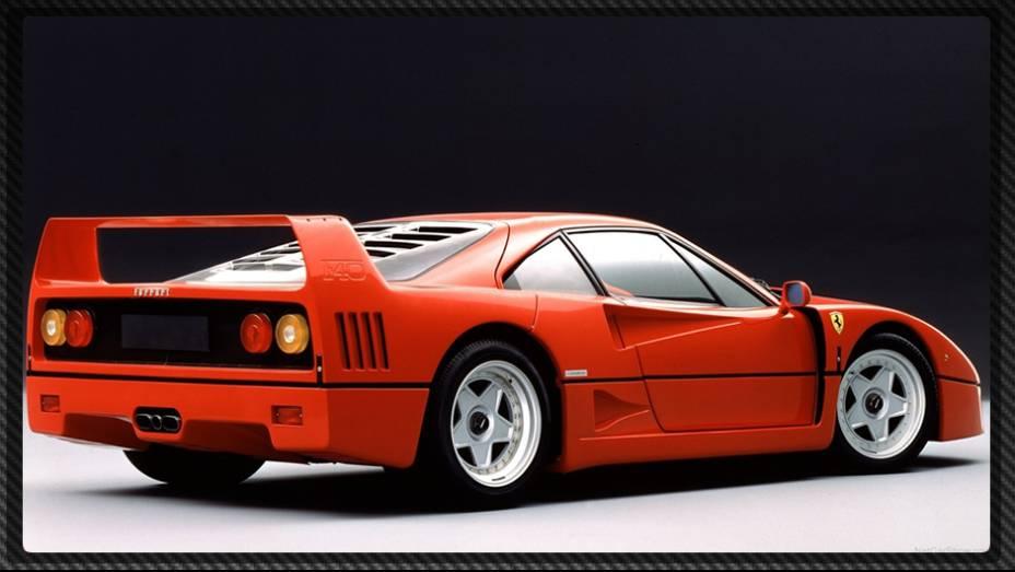 """A Ferrari F40 ainda é considerada por muitos especialistas como o melhor superesportivo de todos os tempos   <a href=""""%20http://quatrorodas.abril.com.br/reportagens/geral/laferrari-novo-suprassumo-ferrari-736137.shtml"""" rel=""""migration"""">Leia mais</a>"""