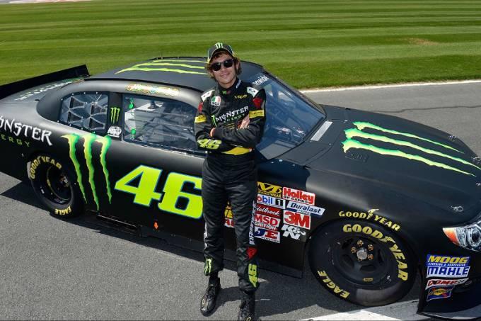 Valentino Rossi na NASCAR