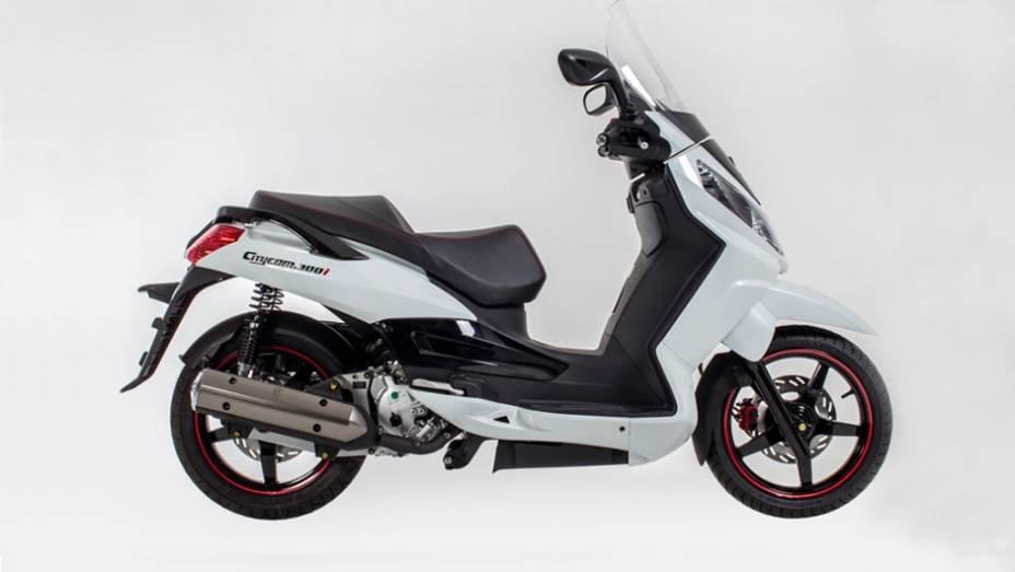 """A Dafra anunciou nesta semana a chegada da versão 2013/2014 do scooter Citycom 300i   <a href=""""http://quatrorodas.abril.com.br/moto/noticias/dafra-apresenta-novo-citycom-300i-742713.shtml"""" rel=""""migration"""">Leia mais</a>"""
