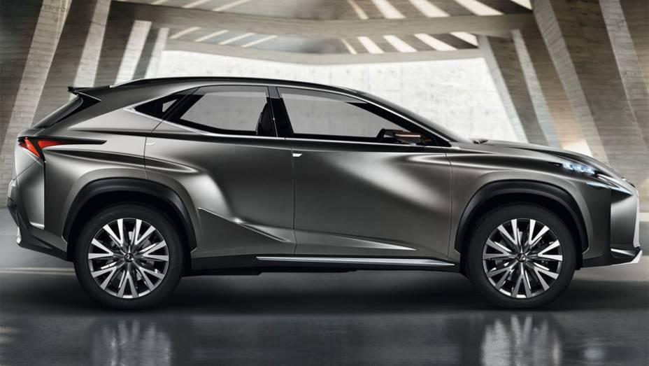 """Com este conceito a marca explora o potencial do crossover compacto de luxo   <a href=""""%20http://quatrorodas.abril.com.br/saloes/frankfurt/2013/lexus-lf-nx-752303.shtml"""" rel=""""migration"""">Leia mais</a>"""