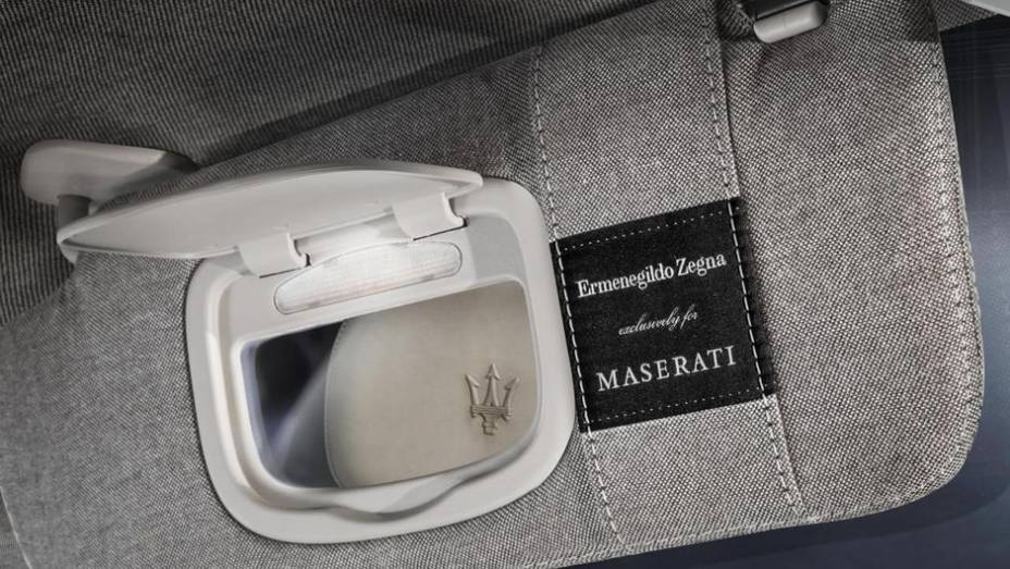 """O nome não deixa enganar: trata-se de um carro-conceito coproduzido pela marca automotiva ao lado da tradicional empresa de alta costura   <a href=""""http://quatrorodas.abril.com.br/saloes/frankfurt/2013/maserati-quattroporte-ermenegildo-zegna-concept-75231"""" rel=""""migration""""></a>"""
