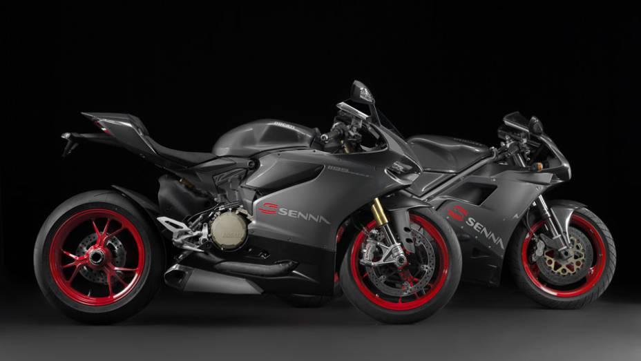 """A motocicleta, que chegará ao mercado em junho de 2014, não teve seu preço divulgado   <a href=""""http://quatrorodas.abril.com.br/moto/noticias/ducati-revela-1199-panigale-s-senna-salao-duas-rodas-756467.shtml"""" rel=""""migration"""">Leia mais</a>"""