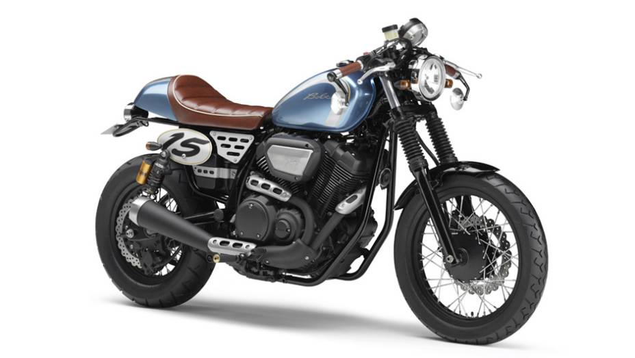 """Yamaha Bolt Café Racer Retro   <a href=""""http://quatrorodas.abril.com.br/moto/noticias/yamaha-mostra-modelos-salao-toquio-760140.shtml"""" rel=""""migration"""">Leia mais</a>"""