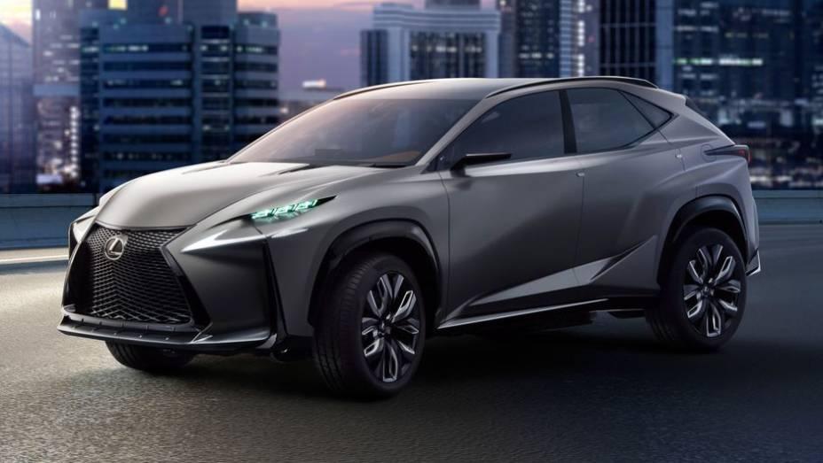 """A Lexus revelou uma versão Turbo do LF-NX concept   <a href=""""http://quatrorodas.abril.com.br/noticias/fabricantes/lexus-lf-nx-turbo-sera-mostrado-toquio-759211.shtml"""" rel=""""migration"""">Leia mais</a>"""