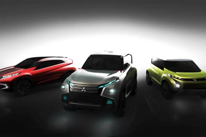 Mitsubishi Concepts AR, GC, XR