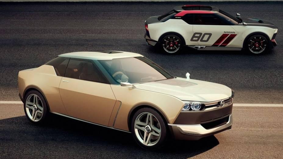 """A Nissan aproveita o Salão de Tóquio para mostrar dois conceituais chamados de IDx, um na versão Freeflow e outro na NISMO   <a href=""""http://quatrorodas.abril.com.br/noticias/saloes/toquio-2013/nissan-apresenta-conceituais-idx-760742.shtml"""" rel=""""migration"""">Leia mais</a>"""