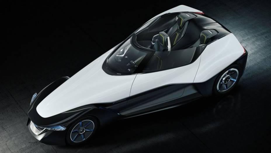 """A Nissan apresenta o conceito BladeGlider durante o Salão de Tóquio   <a href=""""http://quatrorodas.abril.com.br/noticias/saloes/toquio-2013/nissan-anuncia-conceito-bladeglider-salao-toquio-759658.shtml"""" rel=""""migration"""">Leia mais</a>"""
