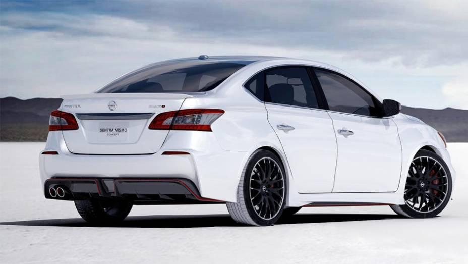 """O veículo foi equipado com rodas de liga leve de 19 polegadas e pneus Michelin Super Sport Performance 225/35 R19   <a href=""""http://quatrorodas.abril.com.br/noticias/saloes/los-angeles-2013/nissan-sentra-nismo-mostrado-los-angeles-760822.shtml"""" rel=""""migration""""></a>"""