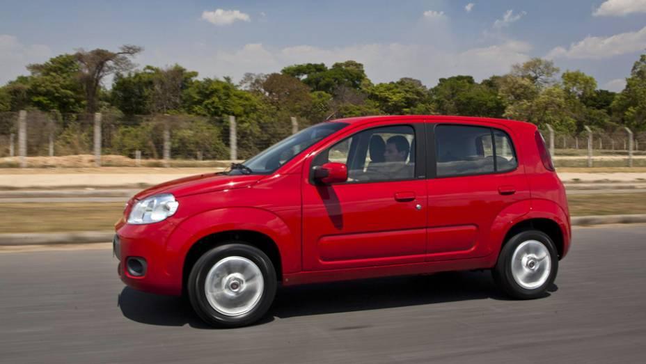 """Em primeiro lugar está o Fiat Uno 1.4 - 8,7%   <a href=""""http://quatrorodas.abril.com.br/reportagens/servicos/tempo-dinheiro-765441.shtml"""" rel=""""migration"""">Leia mais</a>"""