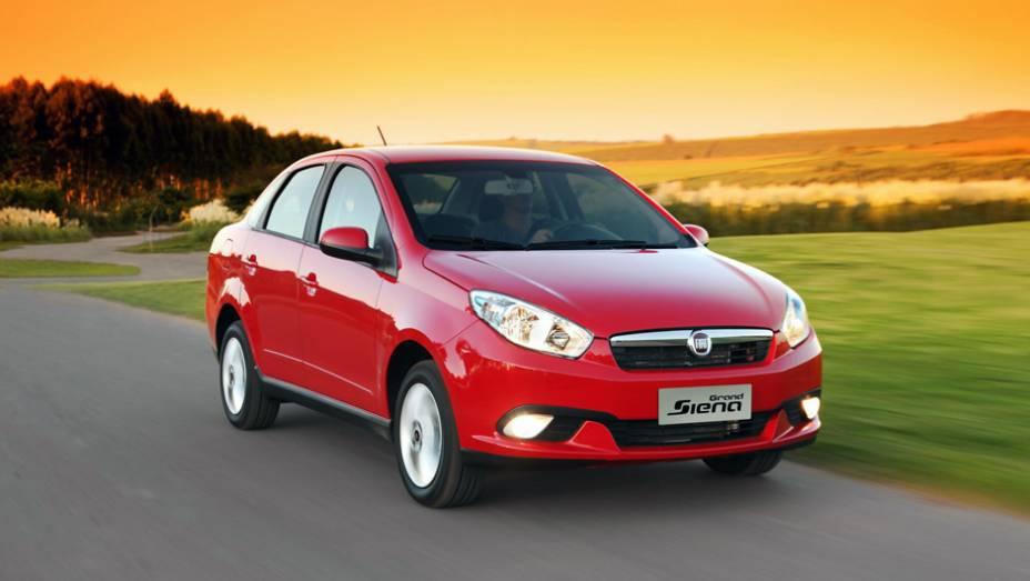 """Em segundo aparece o Fiat Grand Siena 1.4 - 9,0%   <a href=""""http://quatrorodas.abril.com.br/reportagens/servicos/tempo-dinheiro-765441.shtml"""" rel=""""migration"""">Leia mais</a>"""