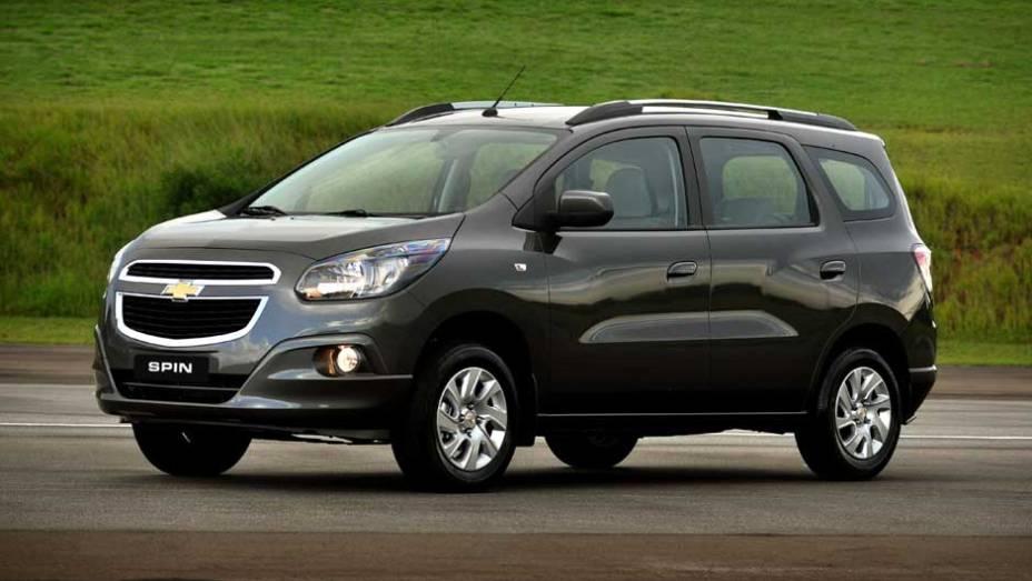 """Em décimo lugar aparece a minivan Chevrolet Spin - 10,3%   <a href=""""http://quatrorodas.abril.com.br/reportagens/servicos/tempo-dinheiro-765441.shtml"""" rel=""""migration"""">Leia mais</a>"""