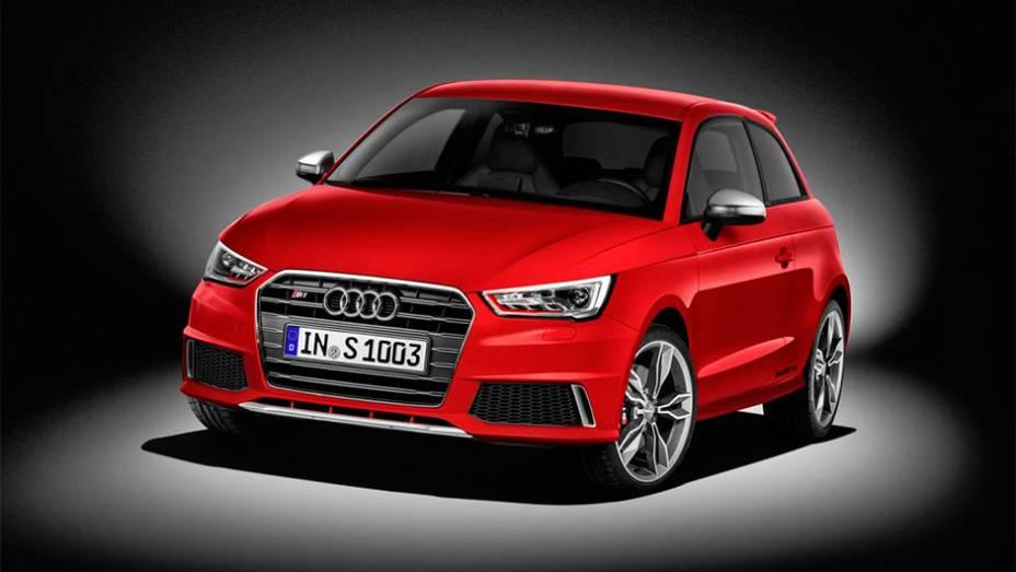 """Audi S1 2014 faz de 0 a 100 km/h em 5,8 segundos   <a href=""""http://quatrorodas.abril.com.br/noticias/saloes/genebra-2014/audi-lanca-oficialmente-s1-s1-sportback-2014-773081.shtml"""" rel=""""migration"""">Leia mais</a>"""