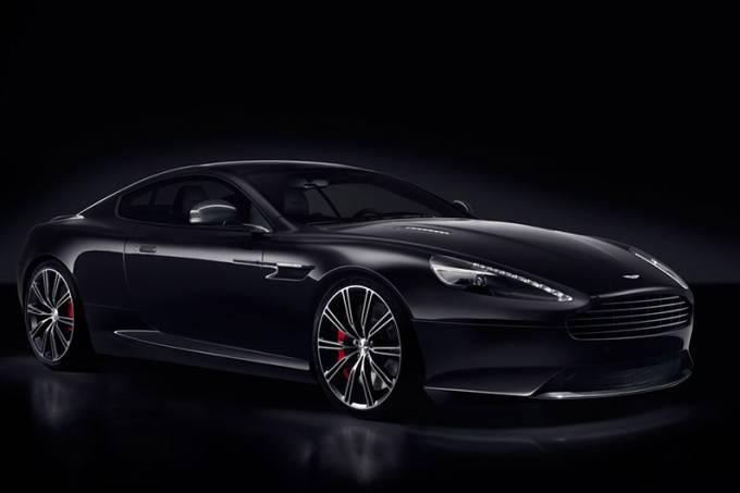 Aston Martin DB9 Carbon Black and White