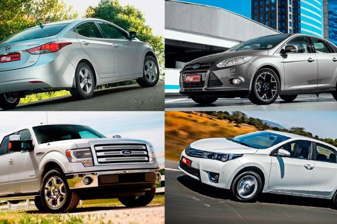 Carros mais vendidos do mundo