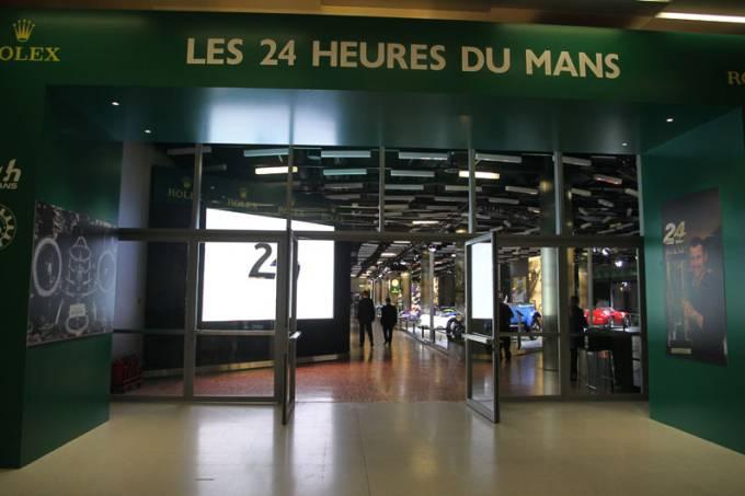 Exposição 24 Horas de Le Mans
