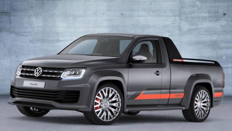 """As primeiras imagens do Volkswagen Amarok Power concept chegaram à Internet   <a href=""""http://quatrorodas.abril.com.br/noticias/fabricantes/surgem-imagens-vw-amarok-power-concept-784231.shtml"""" rel=""""migration"""">Leia mais</a>"""