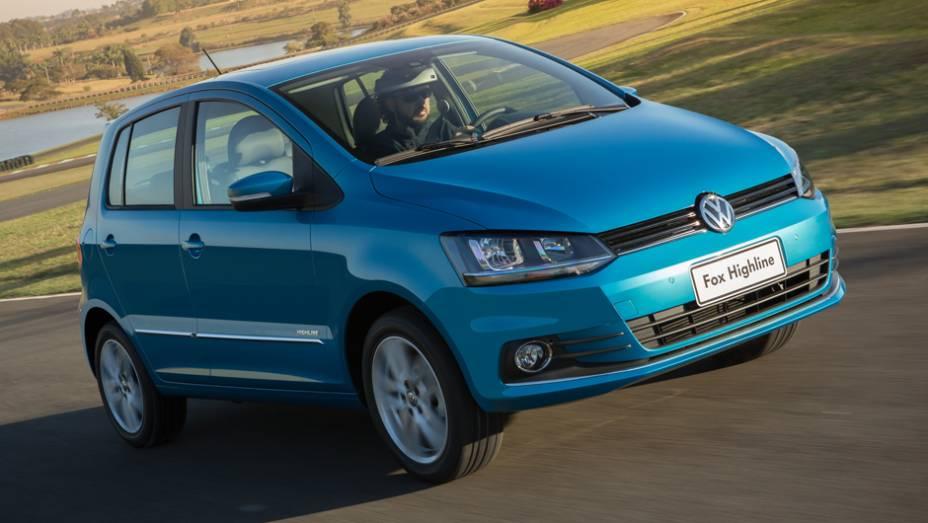 """A Volkswagen colocou a mão na massa e, em 2014, entrega uma nova atualização do hatch Fox   <a href=""""http://quatrorodas.abril.com.br/carros/lancamentos/volkswagen-fox-797087.shtml"""" rel=""""migration"""">Leia mais</a>"""