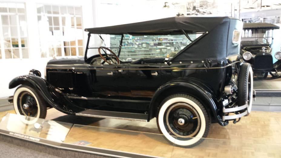 Inovador, o carro tinha itens incomuns na época, como amortecedores e freios hidráulicos em todas as rodas