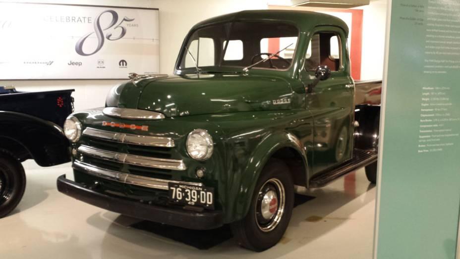 Esta foi a primeira picape produzida em série pela Dodge