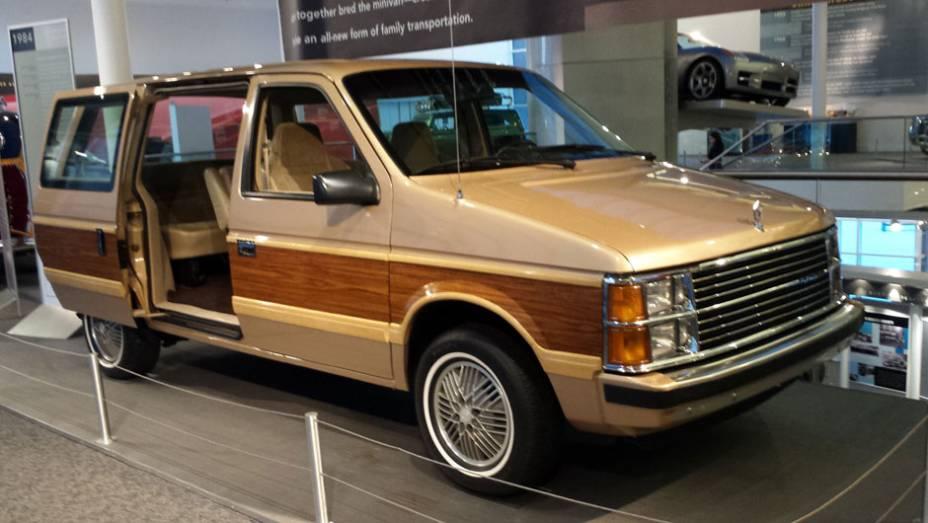 A Plymouth Voyager era uma versão da Chrysler Caravan, a primeira minivan do mundo