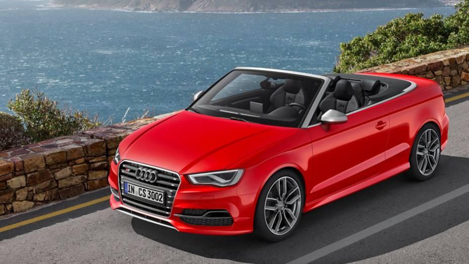 """A poucas semanas do Salão de Genebra, a Audi revelou a nova geração do S3 Cabriolet   <a href=""""http://quatrorodas.abril.com.br/noticias/saloes/genebra-2014/audi-revela-novo-s3-cabriolet-773912.shtml"""" rel=""""migration"""">Leia mais</a>"""