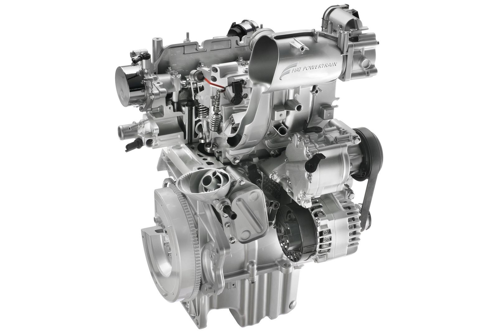 Motor 0.9 TwinAir que era usado pelo Punto na Europa