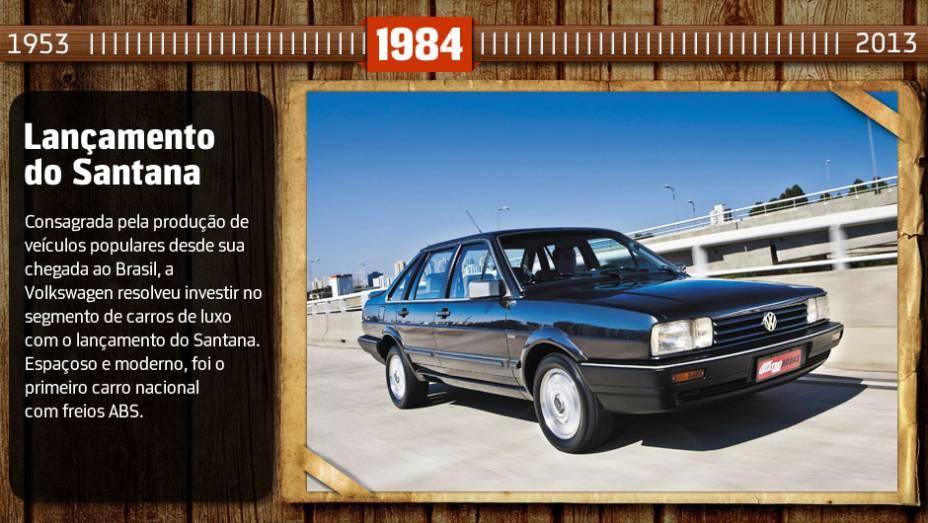 Você sabia? O sedã era sinônimo de status nos anos 80 e inovou ao ser o primeiro carro brasileiro equipado com freios ABS