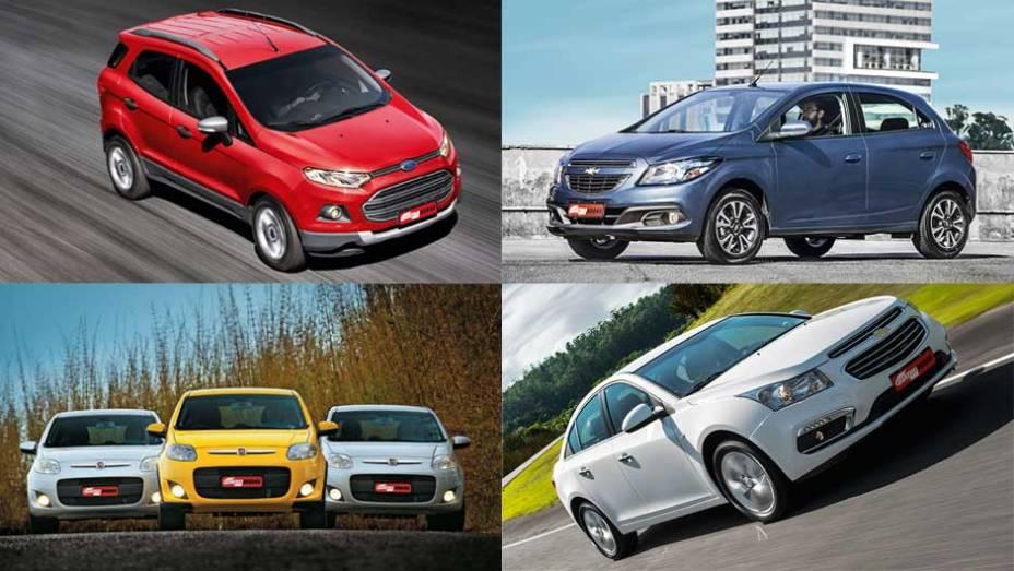 Muita gente consulta a internet antes de comprar seu próximo carro; veja a seguir quais foram os 10 modelos mais buscados na rede no mês de março, segundo informações do Google