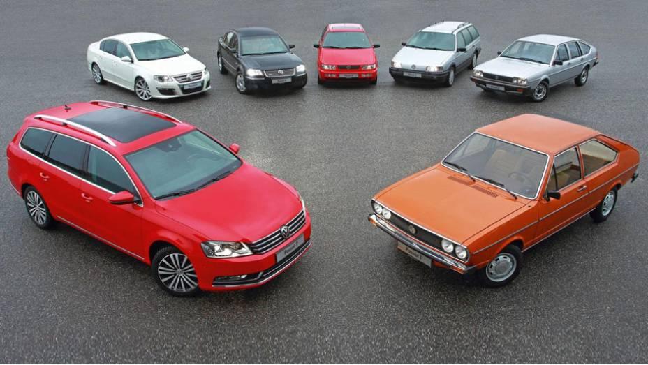 Um dos sedãs mais queridos da história da Volkswagen, o Passat chega aos 40 anos em plena forma; relembre a seguir sua trajetória de sucesso ao longo destas quatro décadas de vida