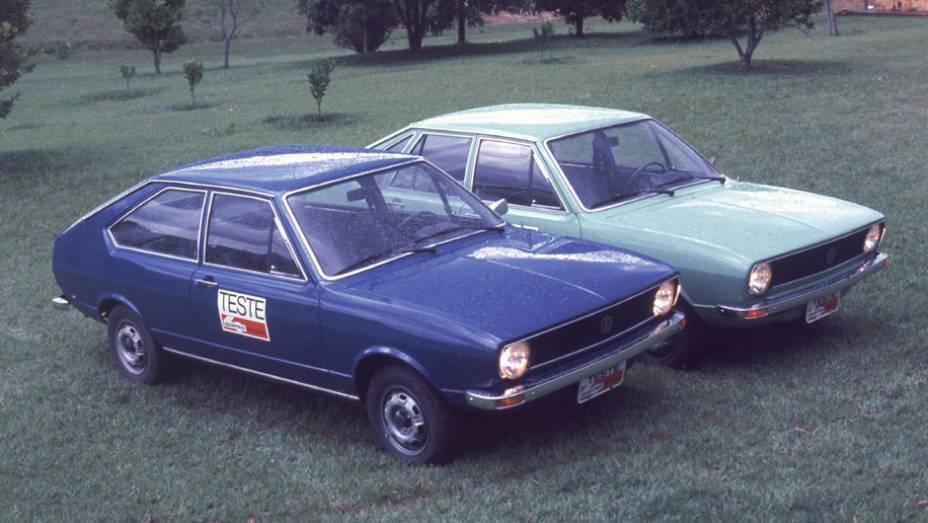 No Brasil, o Passat chegou em setembro de 1974 com dois tipos de acabamento (L e LS); entrou para a história por ser o primeiro VW brasileiro com motor refrigerado a água