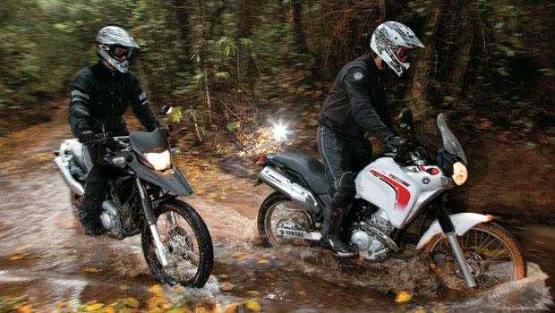 Honda XRE 300 x Yamaha XTZ 250 Ténéré