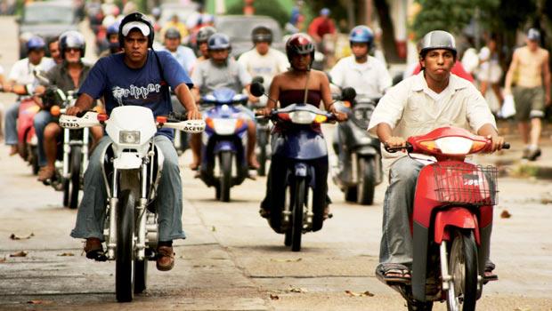 Vendas de moto em alta