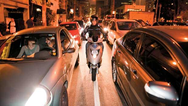 Faixa de motos