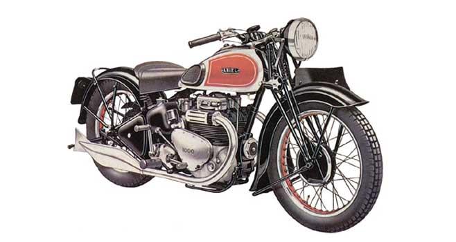 Ariel 1000 SquareFour 1937
