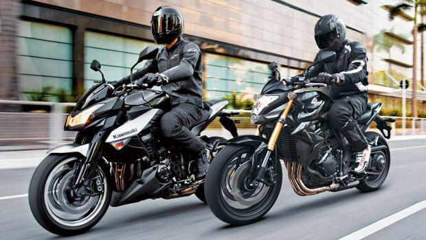 Honda CBR 1000R x Kawasaki Z1000