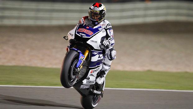 Jorge Lorenzo, da Yamaha