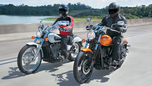 Honda VT 750 Shadow x Kawasaki Vulcan 900 Custom