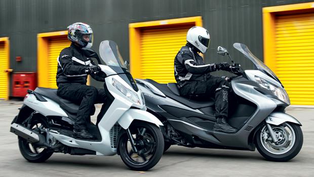 Dafra Citycom 300i X Suzuki Burgman