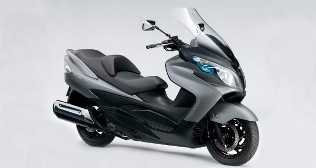 Suzuki lança Burgman 400 Lux na Europa
