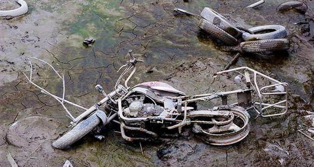 EUA: Motos roubadas são encontradas em lago