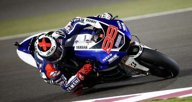 MotoGP: Lorenzo lidera treino livre no Catar