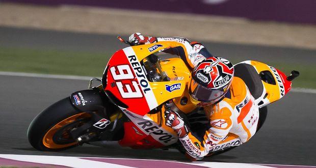 MotoGP: Márquez lidera a sexta-feira no Catar